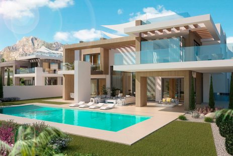 Ekskluzywna willa. Luksusowa willa w Hiszpanii Andaluzja