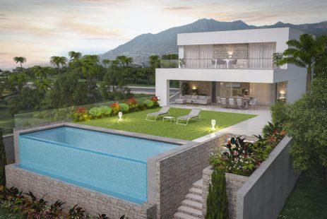 Nowa willa w Mijas Hiszpania Costa del Sol