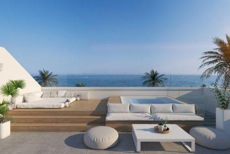 Nowa willa w budowie na Costa del Sol Hiszpania