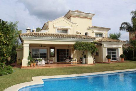 Hiszpania willa na polu golfowym La Quinta nieruchomości