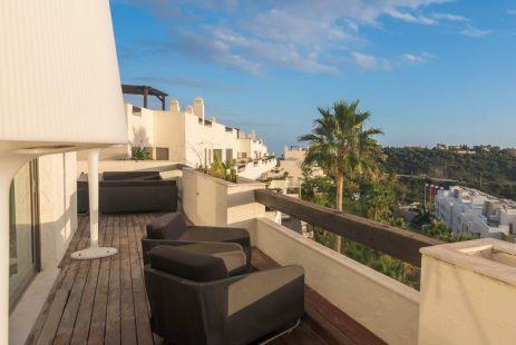 Los Arqueros La Azalia apartament z widokiem