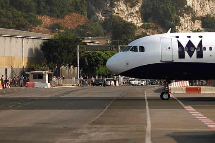 Lotnisko w Gibralarze