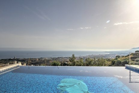 Marbella Hiszpania willa z widokiem na morze