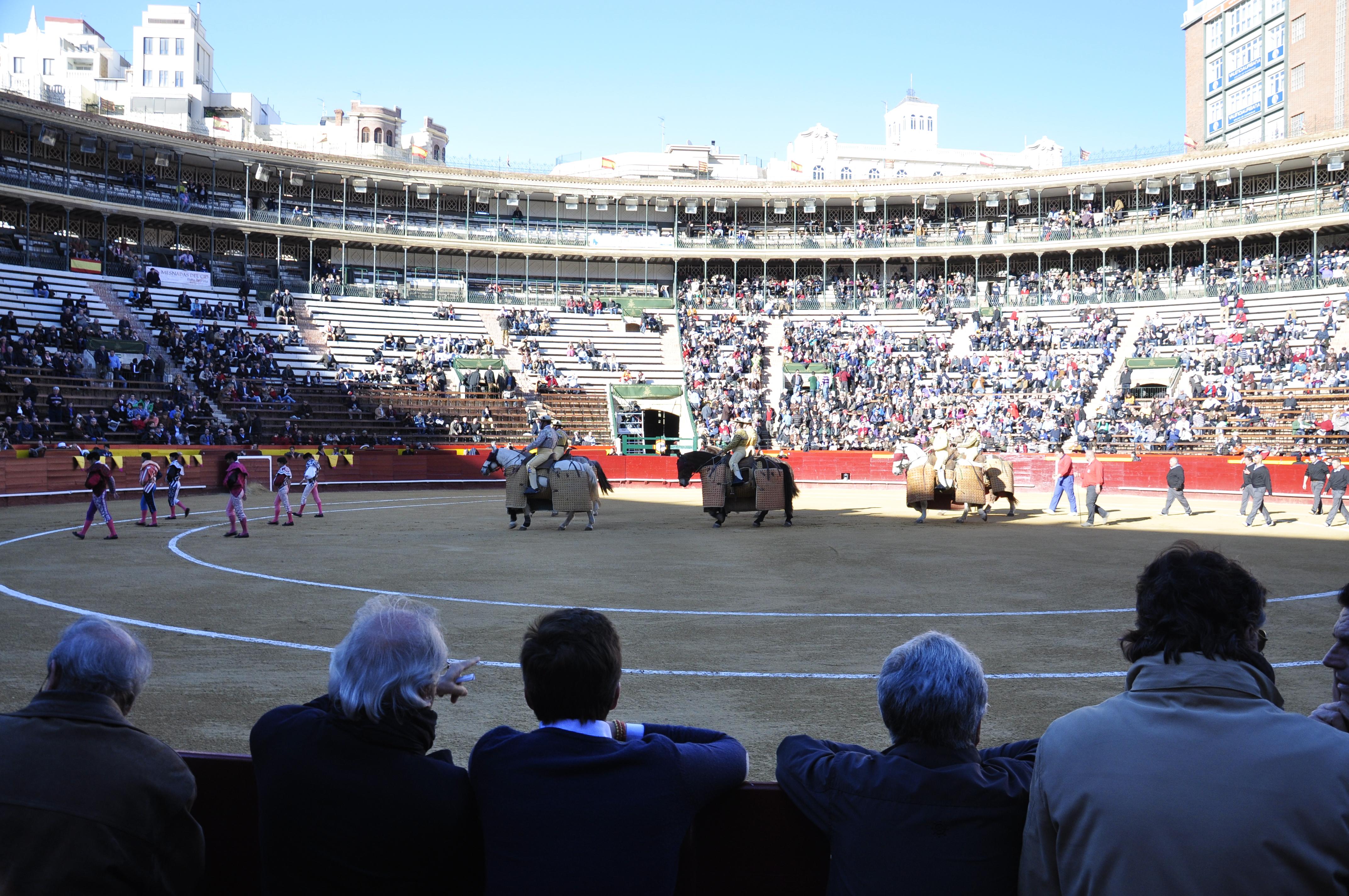 Arena walki byków w Hiszpanii