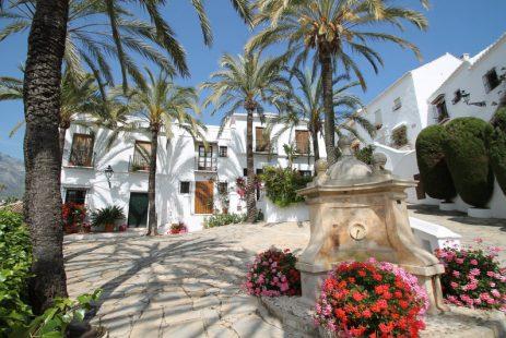 widok Las Lomas de Marbella Club dom szeregowy