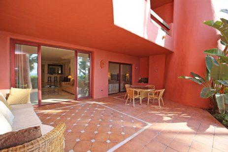 Apartament przy morzu w Estepona