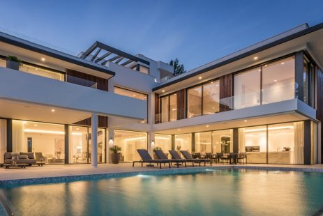 Nowa luksusowa willa z widokiem w Andaluzji