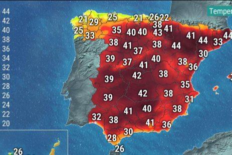 Upały w Hiszpanii